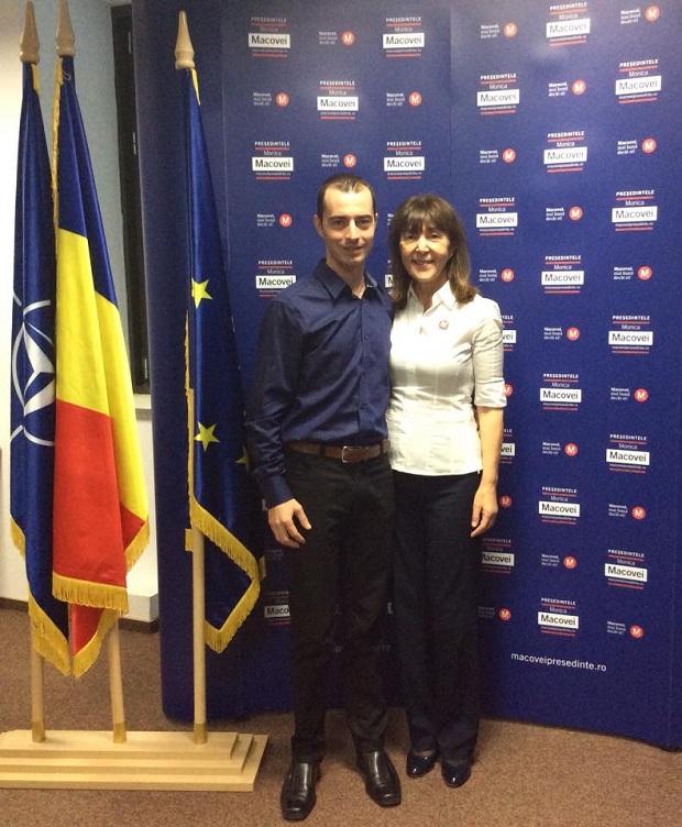 Intalnire Liviu Trandafir si Monica Macovei - Facebook